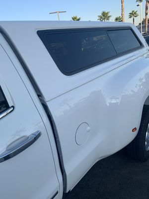 Gmc 3500 camper shell for Sale in Fontana, CA
