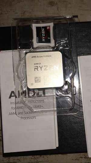 AMD Ryzen Gen 9 3950X CPU for Sale in Phoenix, AZ