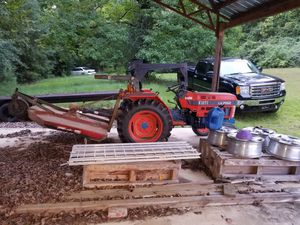 Kioti tractor with 5ft bushhog for Sale in Valley Grande, AL