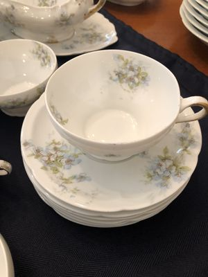 Theodore Haviland Limoges Cups and Saucers for Sale in Mobile, AL