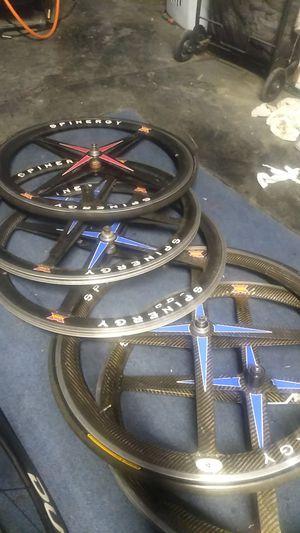 Spinergy revx carbon fiber wheels for Sale in Montclair, CA