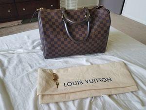 Louis Vuitton speedy 35 damier ebene for Sale in Clinton Township, MI
