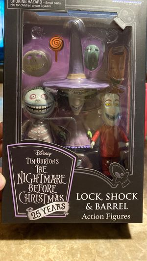 The nightmare before Christmas action figures for Sale in National City, CA
