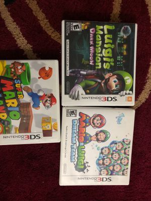 Nintendo 3Ds games for Sale in Des Plaines, IL