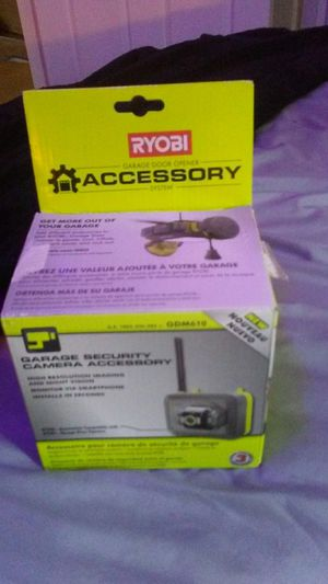 RYOBI GARAGE SECURITY CAMERA for Sale in Fort Defiance, VA