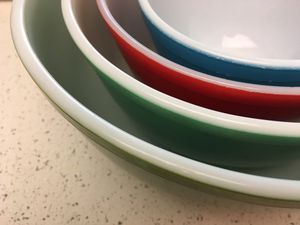 vintage Pyrex mixing bowls. Set of 4 for Sale in Portland, OR