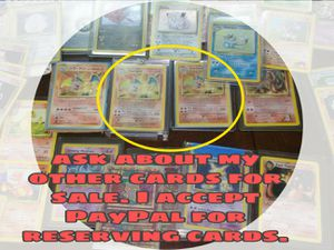 Charizard Base set Holo 90s Pokemon card for Sale in Greensburg, PA