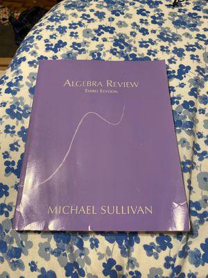 Algebra math book for Sale in San Antonio, TX