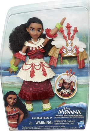 Disney Moana Doll with Ceremonial Dress - New for Sale in San Gabriel, CA
