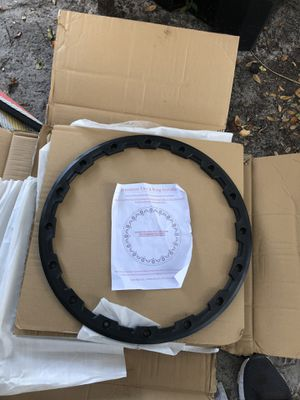 "20"" black rim side for Sale in Tampa, FL"