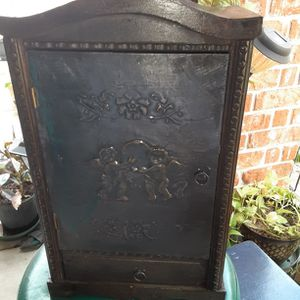 VINTAGE WOOD CABINET for Sale in League City, TX