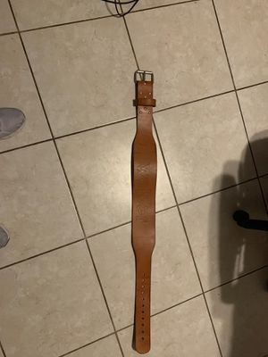Weight belt leather for Sale in Chandler, AZ