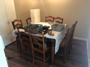Wooden table and chairs for Sale in Nashville, TN
