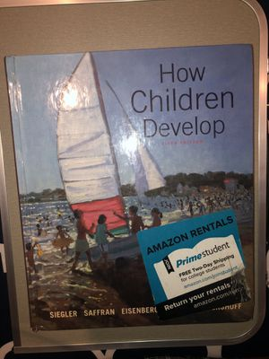 How Children Develop 5th Edition Hardcover Textbook for Sale in Murrieta, CA
