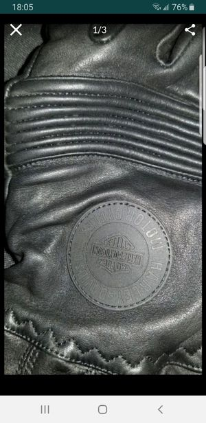 GLOVES LEATHER MOTORCYCLE HARLEY DAVIDSON GORETEX for Sale in The Bronx, NY
