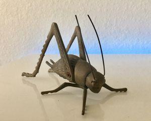 Vintage MCM Brass Cricket Grasshopper for Sale in Miami, FL