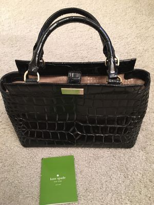 Kate Spade Crocodile Pattern Tote Bag for Sale in East Riverdale, MD