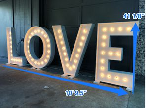 L.O.V.E Letters for Sale in Beaumont, TX