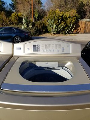 GE profile washer and electric dryer very good condition for Sale in Phoenix, AZ