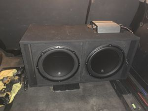 12s subs & amps for Sale in San Diego, CA