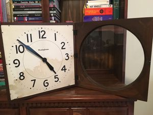 Antique VTG Westinghouse Electric Slave Wall Clock for Sale in New Cumberland, PA