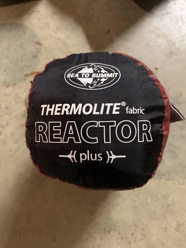 Thermolite sleeping bag liner