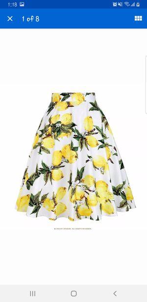 Pinup Lemon Circle skirt for Sale in Las Vegas, NV