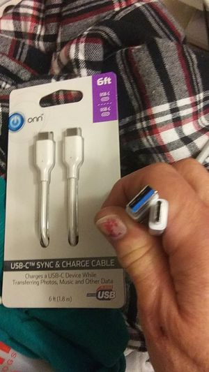 USB-C ..2.. 1 NEW&1 NEARLY NEW for Sale in Billings, MT
