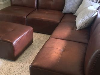 Leather Sofa For Sale - Lots Of Flexibility for Sale in Miami,  FL