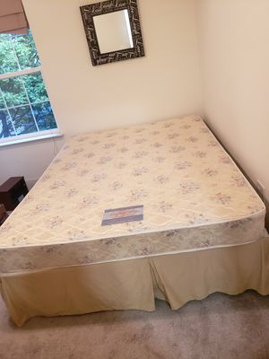 Perfect Sleep Firm Queen Size Mattress and Box Spring - Clean for Sale in Manassas Park, VA