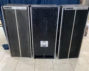 3 Shure Vocal Master Speakers VA301-S for Sale in Aurora, CO