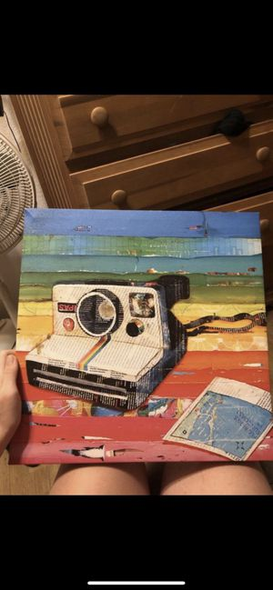 Rainbow camera painting for Sale in Gibsonton, FL