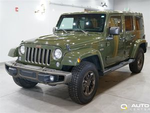 2016 Jeep Wrangler Unlimited Sahara 75th Anniversary for Sale in Lynnwood, WA