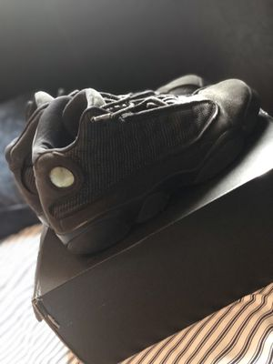Size 7 black cat Jordan's 13s $35 for Sale in Miami, FL