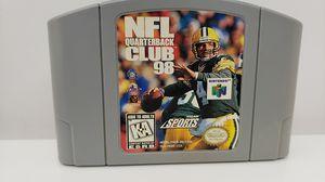 NINTENDO 64 NFL QUARTERBACK CLUB 98 for Sale in St. Louis, MO
