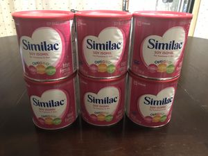 Similac soy isomil 25 cans for Sale in Miami, FL