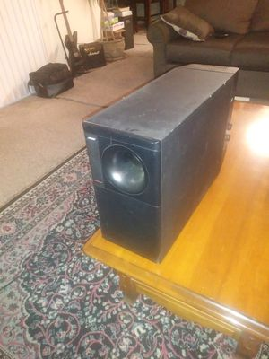 Acoustimass Bose 9 Subwoofer for Sale in Modesto, CA