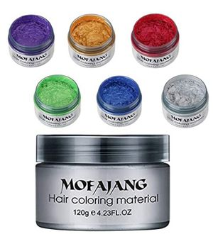 6 colors unisex instant hair color wax mud for Sale in Pasadena, CA