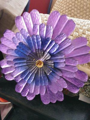 Purple decorative hagign flower for Sale in Albuquerque, NM
