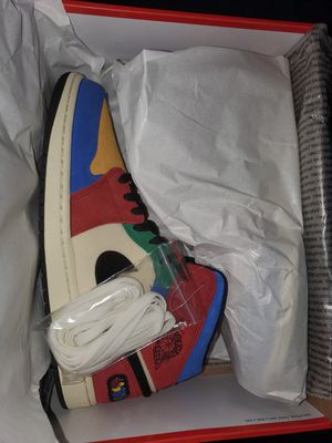 Jordan 1 Fearless Blue the Great size 13 for Sale in Tampa, FL
