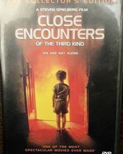"""Close Encounters Of a Third Kind """"We Are Not Alone"""" Movie DVD 2002 (Collector's Edition) for Sale in Chapel Hill,  NC"""