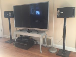 Denon AVR-1712 and Bose 201 Speakers and stands for Sale in Englewood, CO