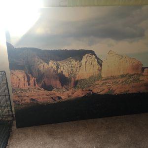 Print Canvas Pic Sedona for Sale in Phoenix, AZ