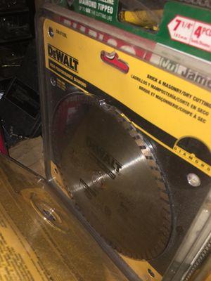 Dewalt saw blade NEW for Sale in Escondido, CA