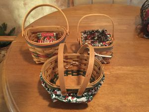 Longaberger collectors baskets for Sale in Largo, FL