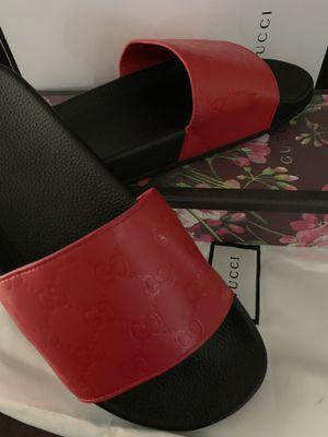 GUCCI SANDALS SLIDES for Sale in Miami, FL
