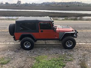 2005 Jeep Wrangler unlimited TJ LJ sell or trade for Sale in San Diego, CA