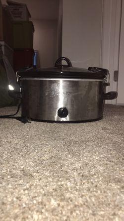 Silver Crock Pot for Sale in Denver,  CO