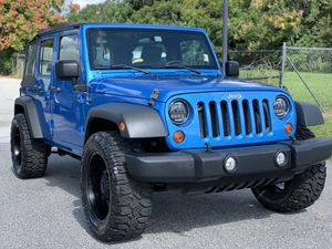 2010 Jeep Wrangler Unlimited 4WD for Sale in Orlando, FL