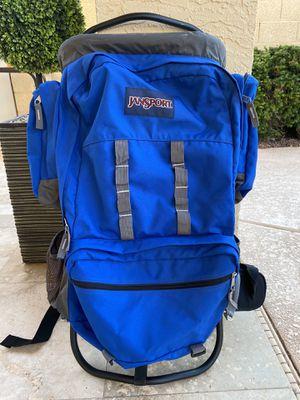 JanSport External Frame Backpack Hiking Camping for Sale in Scottsdale, AZ